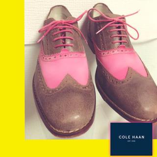 コールハーン(Cole Haan)の★USED★COLE HAAN ドレスシューズ 26.5cm(ドレス/ビジネス)