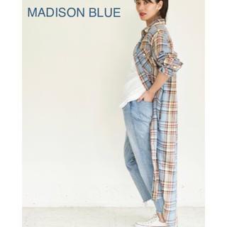 マディソンブルー(MADISONBLUE)の【MADISON BLUE(マディソンブルー)】コットンツイルシャツドレス/00(ロングワンピース/マキシワンピース)