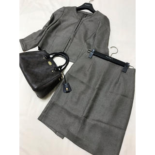アナイ(ANAYI)の美品 ANAYI セットアップ カーキ アナイ スーツ 七五三 フォーマル(スーツ)