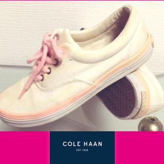 コールハーン(Cole Haan)の★USED★COLE HAAN デッキシューズ 26.5cm(スニーカー)