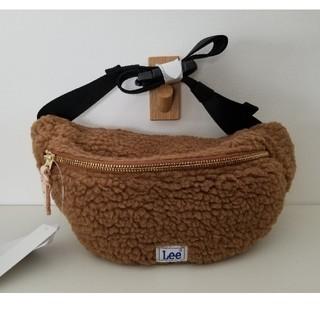 リー(Lee)のLee ボアWAIST BAG(Brown)(ボディバッグ/ウエストポーチ)