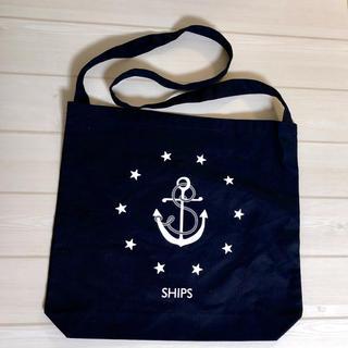 シップス(SHIPS)の【新品】SHIPSキャンバスメッセンジャーバッグトートバッグ ノベルティ(メッセンジャーバッグ)