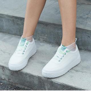 レイン シューズカバー Mサイズ(レインブーツ/長靴)