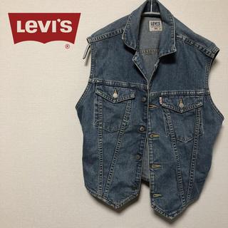リーバイス(Levi's)のリーバイス LEVI'S デニムベスト Gジャン Mサイズ ベスト トップス(ベスト)