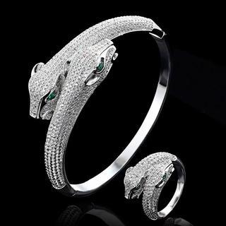 カルティエ(Cartier)の大人気!ブレスレット&リングセット♡(ブレスレット)