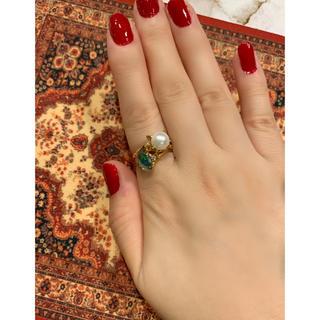 古いあこや真珠のリング(リング(指輪))