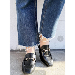グレイル(GRL)のMOCA ビット付きローファー 24cm(ローファー/革靴)