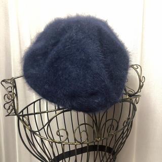 アングリッド(Ungrid)のUngrid ウールベレー帽(ハンチング/ベレー帽)