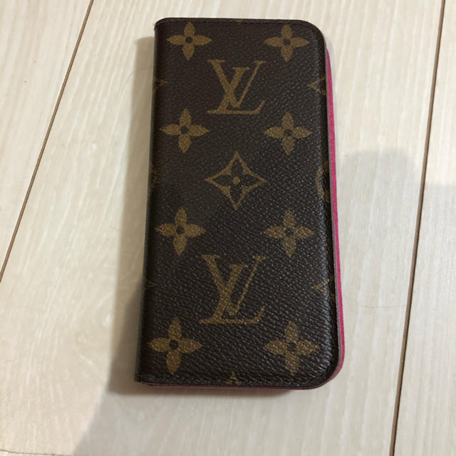 LOUIS VUITTON - 正規品!!iPhone 6 7 8 ケース VUITTON ルイ ヴィトン の通販
