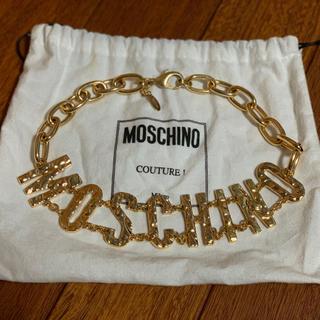 モスキーノ(MOSCHINO)のmoschino ネックレス(ネックレス)