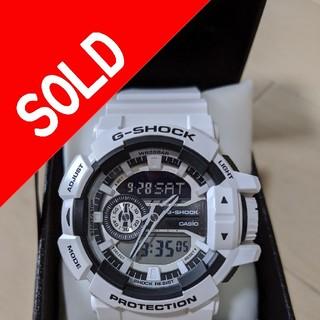 ジーショック(G-SHOCK)のGA-400-7A CASIO G-SHOCK(腕時計(アナログ))