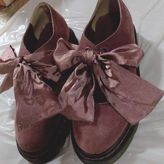 メリージェニー(merry jenny)のリボンフラットシューズ merry jenny 靴 メリージェニー(ローファー/革靴)
