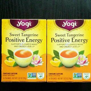 カルディ(KALDI)の【カンカン様専用】Yogi ポジティブエナジー スウィートタンジェリン 2個組(茶)