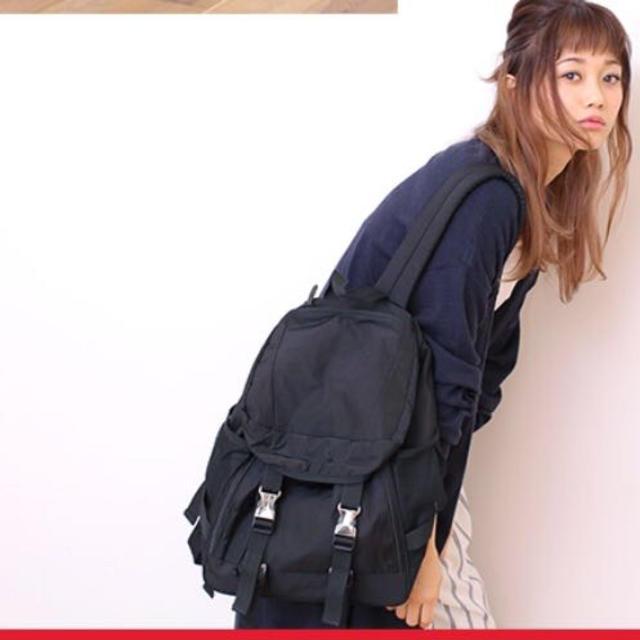 6783c57b58 heather(ヘザー)のヘザー 新品ナイロンリュックバッグ 黒 レディースのバッグ(リュック
