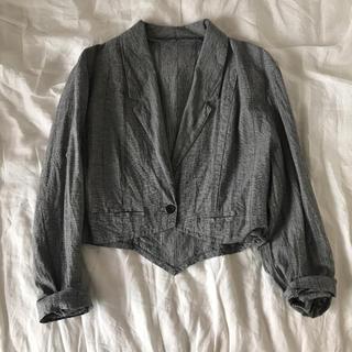 ロキエ(Lochie)の古着 vintage short jacket(テーラードジャケット)