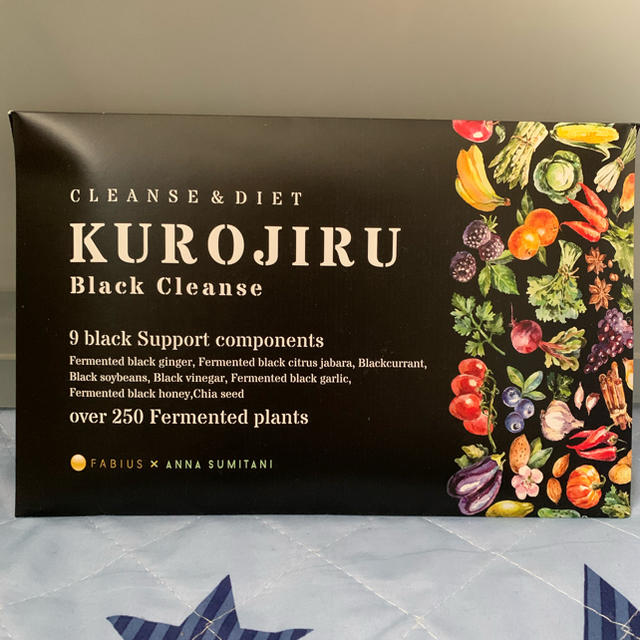 FABIUS(ファビウス)のあんず様専用 黒汁 1箱 食品/飲料/酒の健康食品(その他)の商品写真