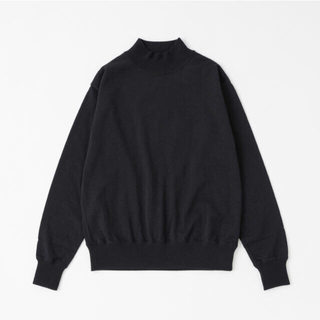 コモリ(COMOLI)の最終価格✳︎ COMOLI 18G Wool High Neck Knit(ニット/セーター)