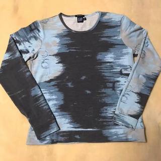 ギャップ(GAP)のGAP  ストレッチ 長袖   カットソー  ロンT   Lサイズ  美品(Tシャツ(長袖/七分))