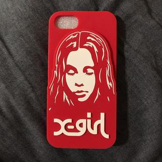 エックスガール(X-girl)のiPhone7対応ケース(iPhoneケース)