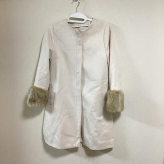 ジーユー(GU)の大人可愛いコート  試着のみ(毛皮/ファーコート)
