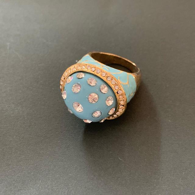 デザインリング 17号 レディースのアクセサリー(リング(指輪))の商品写真