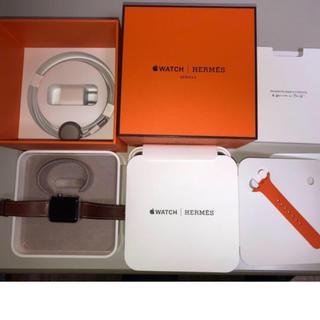 エルメス(Hermes)の【未使用 新品】Apple Watch Series3 HERMES 正規保証付(腕時計(デジタル))