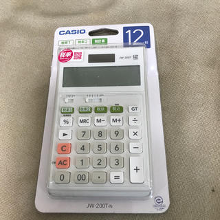 CASIO - 新品未使用 CASIO 電卓 12桁 JW-200T N