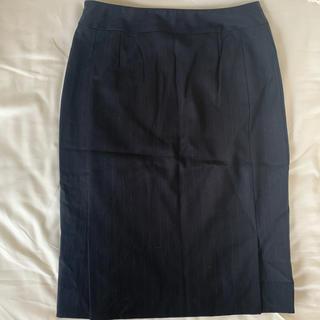 カルバンクライン(Calvin Klein)のカルバンクライン タイトスカート 黒(ひざ丈スカート)