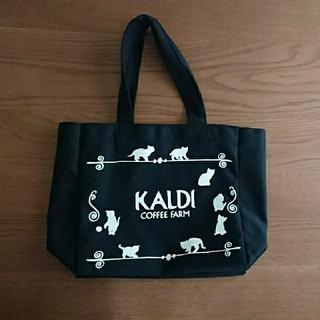カルディ(KALDI)の【新品・未使用】2018年2月  KALDI ネコの日 トートバッグ(トートバッグ)