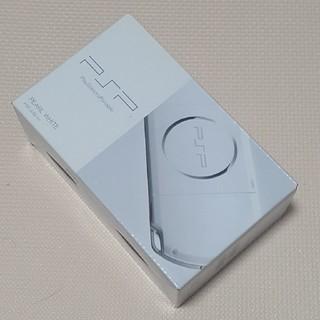 プレイステーションポータブル(PlayStation Portable)の新品未使用 PSP 3000 ホワイト 値下げ不可(携帯用ゲーム機本体)