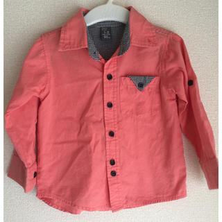 ザラキッズ(ZARA KIDS)の【ZARA kids】デザインシャツ 95cm(ブラウス)