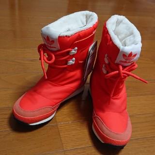 アディダス(adidas)のadidasオリジナルス アディダス ブーツ ムートン 23,5(ブーツ)