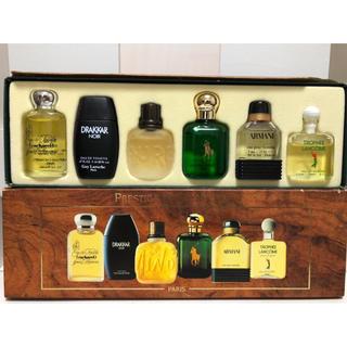 アルマーニ(Armani)のPRESTIGE ET COLLECTIONS ミニ香水6個セット(香水(男性用))