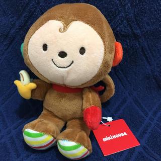 ミキハウス(mikihouse)のMIKI HOUSE  お猿さんのガラガラ(がらがら/ラトル)