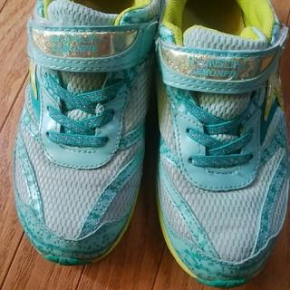 22.5エメラルドグリーン靴(スニーカー)