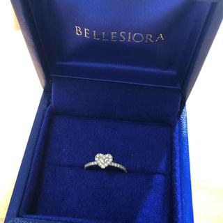 アガット(agete)の貴重⭐︎ ベルシオラ ハートダイヤモンドリング PG(リング(指輪))