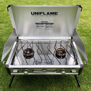 UNIFLAME - ユニフレーム ツインバーナー US-1900 トートL コンプレッションベルト