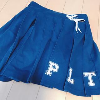 ピンクラテ(PINK-latte)のピンクラテ プリーツスカート Mサイズ インパン付き(ミニスカート)