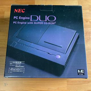 エヌイーシー(NEC)のPC Engine DUO デュオ 本体 一式【箱 取説付】(家庭用ゲームソフト)
