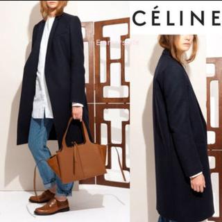 セリーヌ(celine)の専用です celine セリーヌ クロンビー コート 黒 フィービー (チェスターコート)