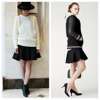 ドゥーズィエムクラス(DEUXIEME CLASSE)のドゥーズィエムクラス /ウールペプラムスカート(ミニスカート)
