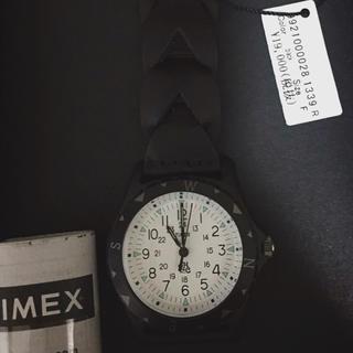ロンハーマン(Ron Herman)のRon Herman×TIMEX タイメックスサファリ黒 新品ロンハーマン(腕時計(アナログ))