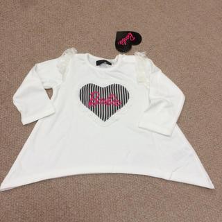 バービー(Barbie)の新品タグ付き Barbie ロンT 90サイズ(Tシャツ/カットソー)
