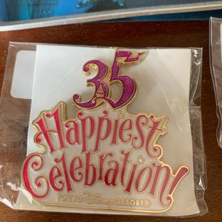 ディズニー(Disney)のディズニー ランヤードアクセサリー 35周年  (キャラクターグッズ)