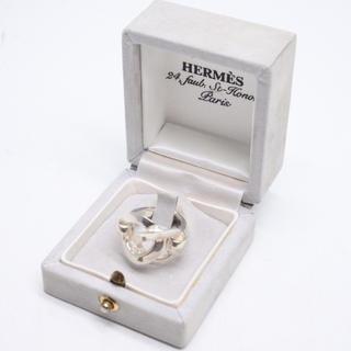 Hermes - 希少 HERMES エルメス ヴィンテージ リング 指輪 シルバー 925