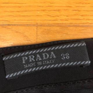 ロキエ(Lochie)のPRADA ブラックパンツ(カジュアルパンツ)