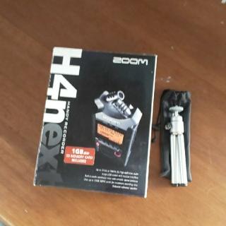 ズーム(Zoom)のハンディレコーダー zoom h4n(MTR)