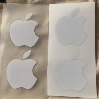 アイフォーン(iPhone)のアップル シール2組(シール)