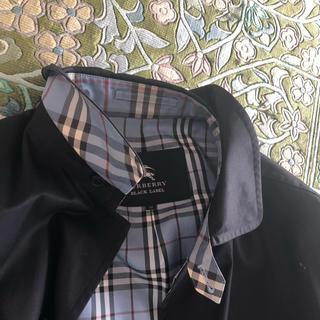 バーバリーブラックレーベル(BURBERRY BLACK LABEL)のバーバリーブラックレーベル コート(ステンカラーコート)