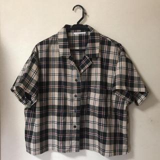 レトロガール(RETRO GIRL)のRETRO GIRL チェックシャツ(シャツ/ブラウス(半袖/袖なし))